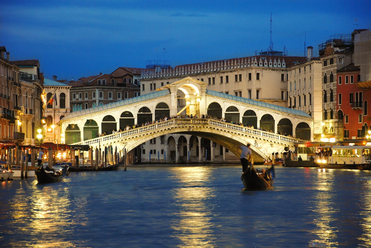 Rialto Bridge Venice by Splendors of Italy