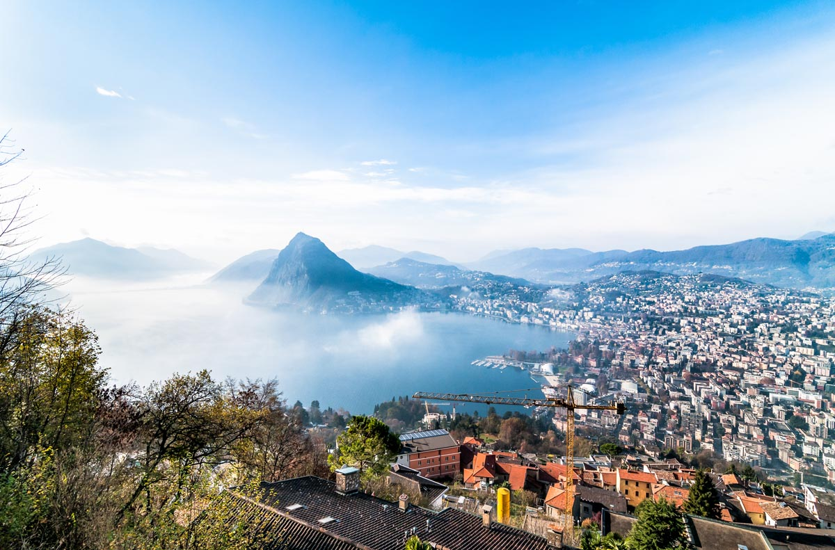 Lugano Lake Splendors of Italy