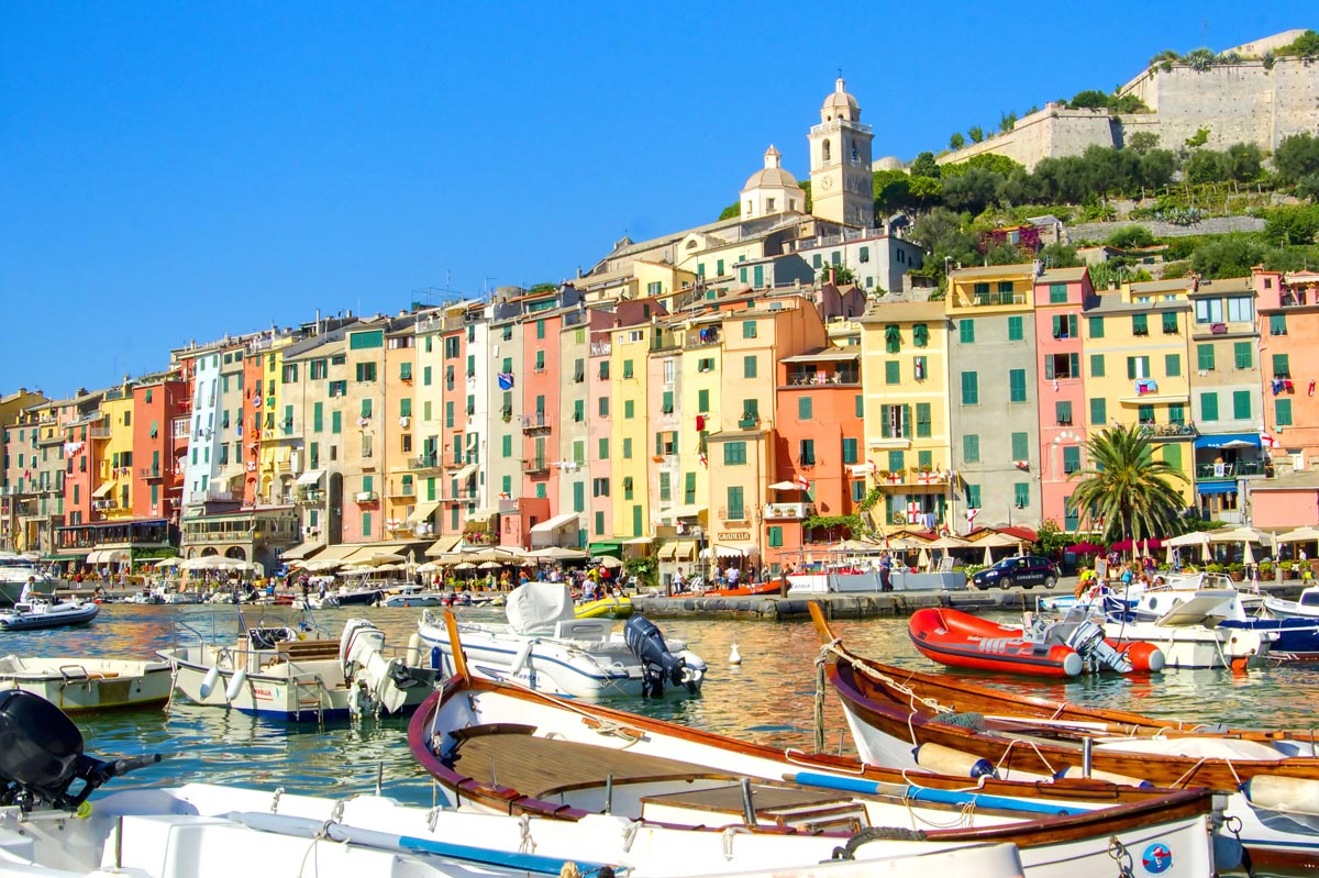 Porto Venere Liguria - Splendors of Italy